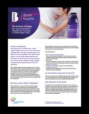 Biotis SleepWell Clinical Study Summary